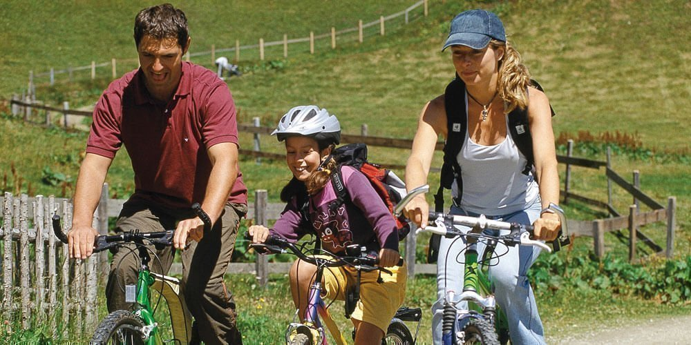 Active summer holidays in Racines